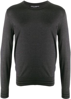 Dolce & Gabbana Lightweight Knitted Jumper