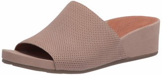 Gentle Souls Women's Slip on Wedge Sandal