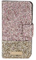 Kate Spade Skyline Glitter Wrap Folio iPhone 7 Case