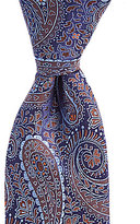 Daniel Cremieux Big & Tall Heart Paisley Traditional Silk Tie
