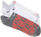 Nike Women's Performance Cotton Cushioned No Show Socks - 3 Pack
