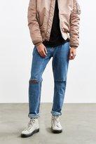 BDG Slim Knee Slash Stonewash Slim Jean