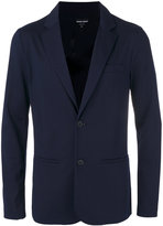 Giorgio Armani welt pocket blazer - men - Polyamide/Spandex/Elastane/Cupro/Viscose - 50