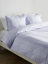 Melange Home Lace Cotton Duvet Set
