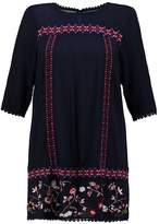 Evans EMBROIDERED Tunic navy