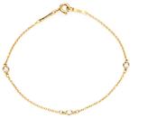 Tiffany & Co. Women's Vintage 18K Yellow Gold & Diamond Bracelet