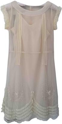 Les Petites Ecru Dress for Women