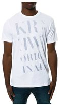 KR3W Mens The Serif Graphic T-Shirt M