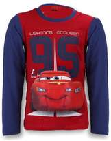 Disney Pixar Cars Boys Long Sleeve T-Shirt Age 3 to 8 Years