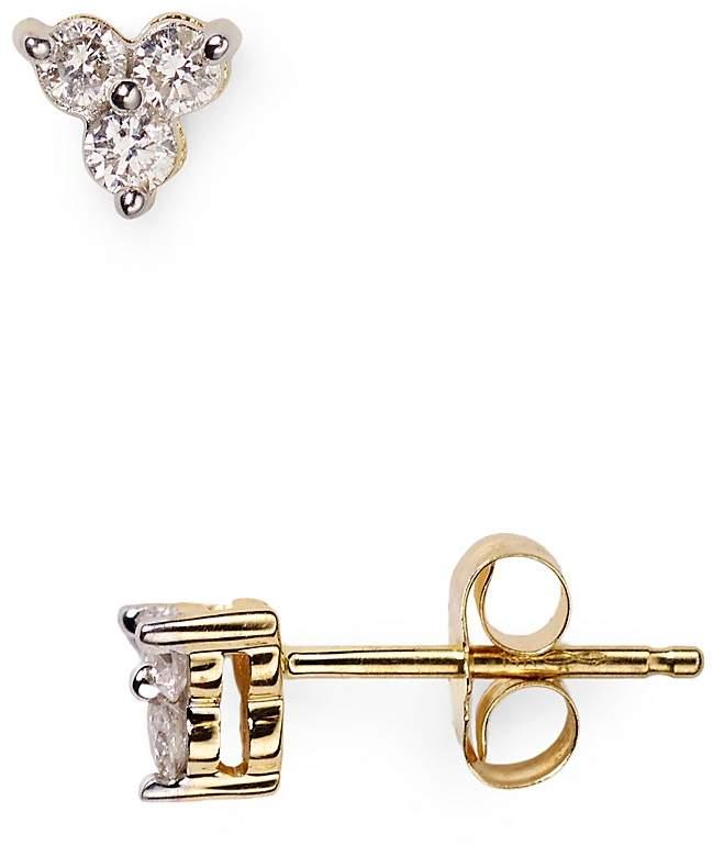 Adina Diamond Cluster Stud Earrings