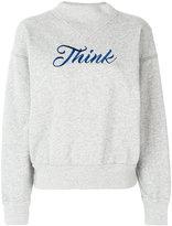 Etoile Isabel Marant Think sweatshirt - women - Cotton/Polyester - 36