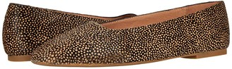 Madewell The Cory Flat (Toffee Multi Haircalf) Women's Shoes