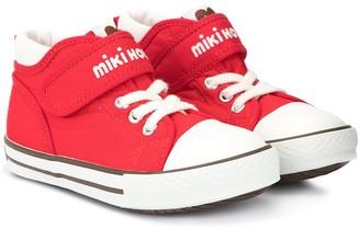 Mikihouse Logo Hi-Top Sneakers