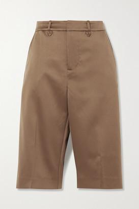 MUNTHE Mind Satin Shorts - Camel