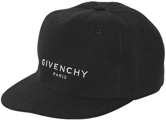 Givenchy Logo Embroidered Canvas Baseball Hat