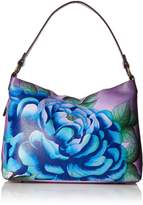 Anuschka Anna By Anna by Hand Painted Leather Women's Large Shoulder HOBO