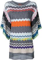 Missoni mini jumper dress - women - Polyester/Cupro/Viscose - 38