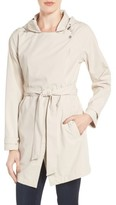 Bernardo Women's Breathable Microfiber Trench Coat