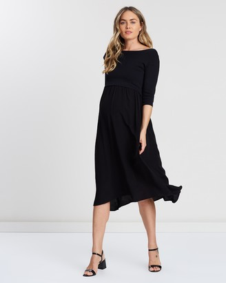 Soon Francis Long Sleeve Feeding Dress