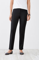 J. Jill Perfect Cotton-Stretch Ankle Pants