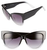 A. J. Morgan Women's A.j. Morgan 'Hopper' 55Mm Sunglasses - Black