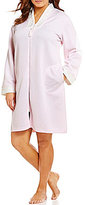 Miss Elaine Plus Quilted Zip-Front Robe
