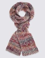 Marks and Spencer Space Dye Knitted Scarf