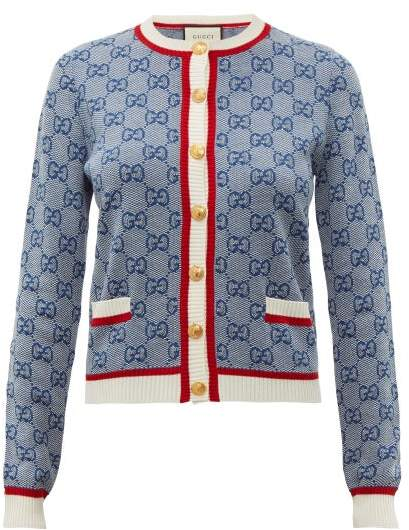0f1f8bfea55f90 Gucci Wool Cardigans For Women - ShopStyle UK