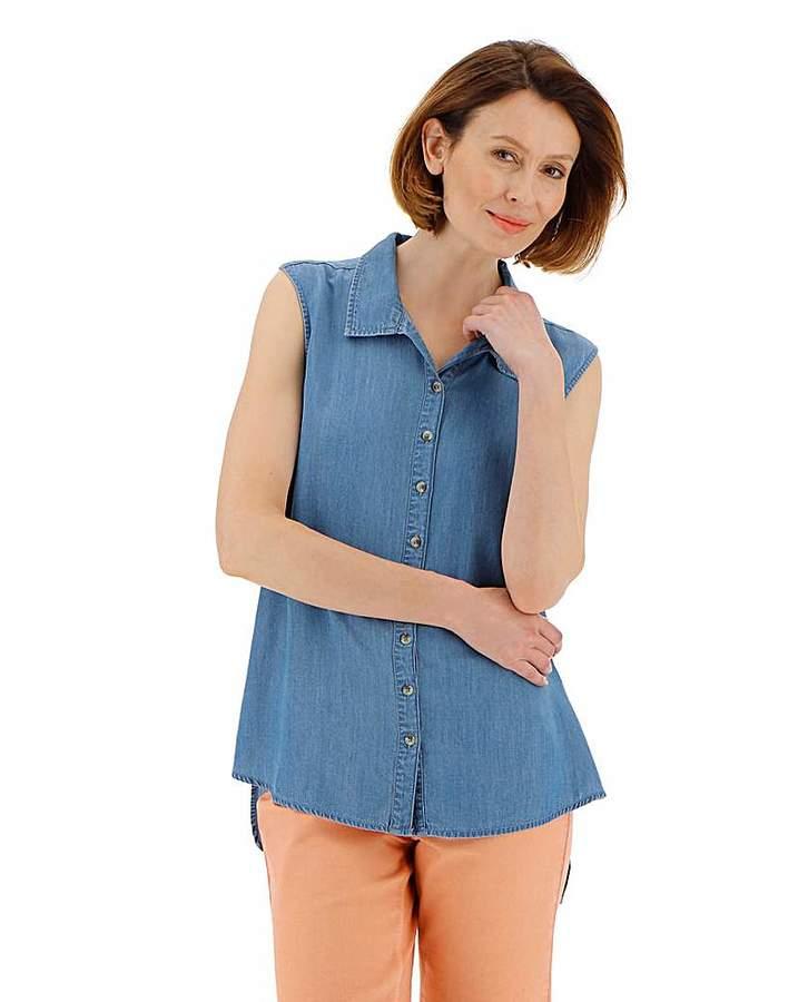 d415e465228 Denim Tunic - ShopStyle UK