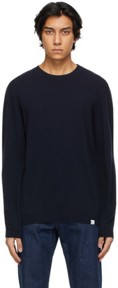 Norse Projects Navy Merino Sigfred Sweater
