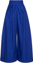 DELPOZO Wide Legged Pleated Trousers