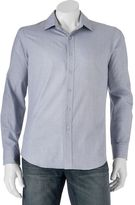 Apt. 9 Men's Slim-Fit Solid Textured Woven Casual Button-Down Shirt