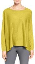 Eileen Fisher Tencel ® Lyocell Blend Ballet Neck Top (Regular & Petite)