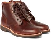 J.crew - Kenton Cap-toe Leather Boots