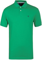 Hackett Tailored Green Short Sleeve Polo Shirt