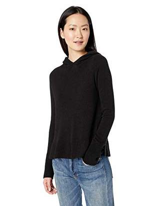 Amazon Brand - Daily Ritual Women's Wool Blend Hooded Pullover Sweater