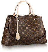 Louis Vuitton Montaigne MM Handbag Article: M41056 Made in France