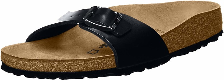 Birkenstock Madrid Unisex-Adults' Sandals Black (Schwarz) - 2.5 UK