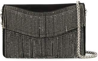 Liu Jo crystal fringe shoulder bag