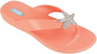 OKA b. Thong Sandals with Starfish Embellishment- Oliver