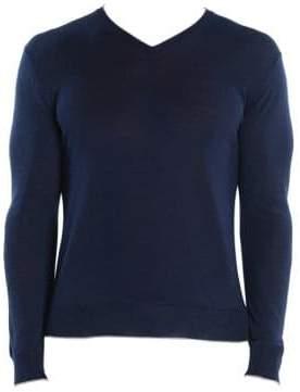 Eleventy Fine Gauge V-Neck Sweater