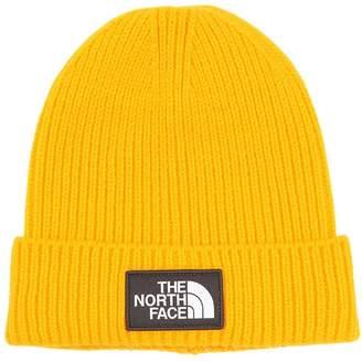 The North Face Logo Box Cuffed Acrylic Blend Beanie