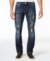 INC International Concepts Men's Skinny-Fit Dark Wash Jeans, Only at Macy's
