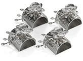 Michael Aram White Orchid Set of 4 Napkin Rings