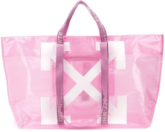 Off-White Off White Commercial print tote