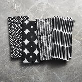 Crate & Barrel Kinzey Dinner Napkins, Set of 4