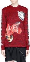 Proenza Schouler Zebra photographic print long sleeve T-shirt