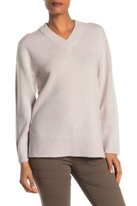 Magaschoni Cashmere High/Low Sweater