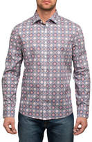 English Laundry Medallion Print Sport Shirt