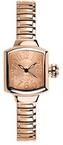 Glam Rock Women's MBD27091 Miami Beach Art Deco Rose Gold Tone Dial Rose Gold Ion-Plated Stainless Steel Watch